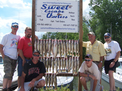 Walleye Fishing Charters Lake Erie